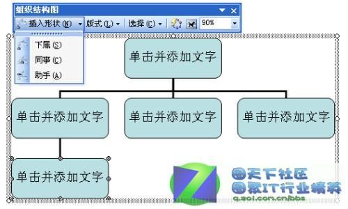 word97-2003组织结构图