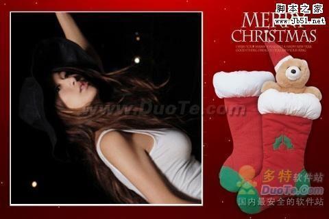 用美图秀秀最炫边框-打造最火爆的圣诞照片