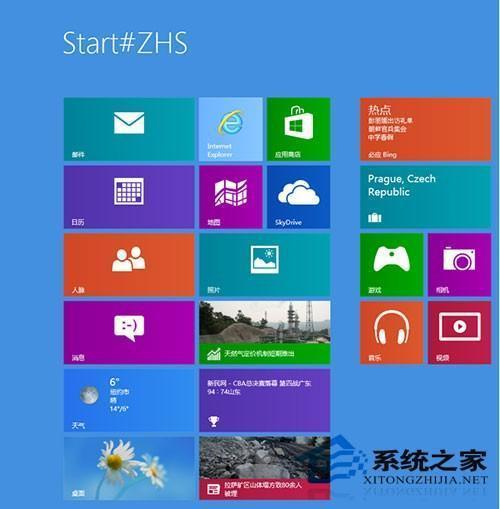 Win8开机进入开始屏幕界面显示Start#ZHS奇怪现象解释